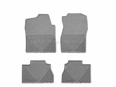 07.5-10 LMM Duramax - Interior Accessories - WeatherTech - WeatherTech Duramax Front And Rear All Weather Floor Mats (Grey) 2007.5-2014