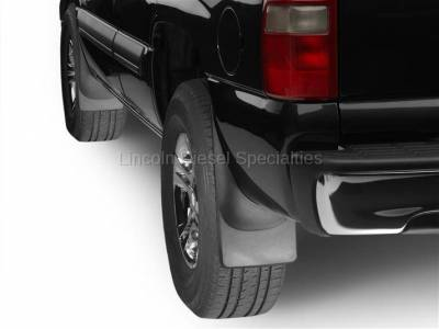 WeatherTech - WeatherTech Mud Flap Front and Rear, Std. Fenders Laser Fitted, 2001-2007 - Image 2