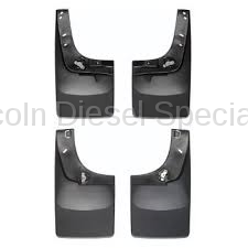 WeatherTech - WeatherTech Mud Flap Front and Rear, Flared Fender/Lip Trim, Fenders Laser Fitted, 2001-2007 - Image 3