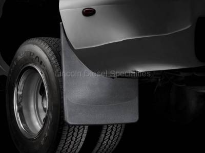 WeatherTech - WeatherTech Mud Flap Front and Rear, Std Fenders, Dually,  Laser Fitted, 2001-2007 - Image 2