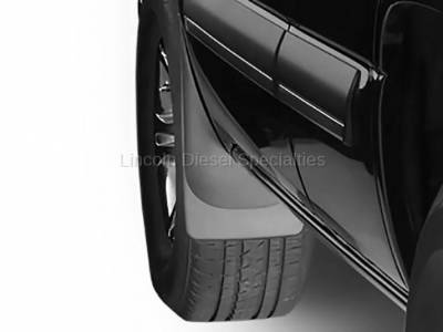 WeatherTech - WeatherTech Mud Flap Front Only Std. Fenders Laser Fitted, 2001-2007 - Image 2