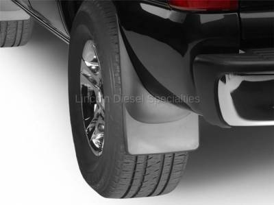 WeatherTech - WeatherTech Mud Flap Rear Only Std. Fenders Laser Fitted, 2001-2007 - Image 2