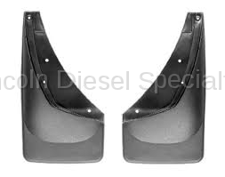 WeatherTech - WeatherTech Mud Flap Front Only Flared Fenders/ Moulding Laser Fitted, 2001-2007 - Image 2