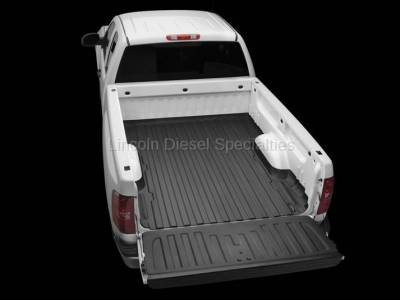 Exterior Accessories - Bed Accessories - WeatherTech - WeatherTech TechLiner® Bed and Tailgate Liner, Regular Bed, Duramax 2007.5-2018