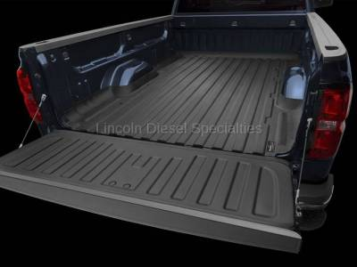 Exterior Accessories - Bed Accessories - WeatherTech - WeatherTech TechLiner® Bed and Tailgate Liner, Long Bed, Duramax 2007.5-2018