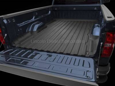 Exterior Accessories - Bed Accessories - WeatherTech - WeatherTech TechLiner® Bed Liner Only, Regular Bed, Duramax 2007.5-2018