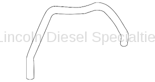 Cooling System - Hoses, Hose Kits, Pipes and Clamps - GM - GM OEM Engine Coolant Hose (2011-2014)