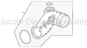 11-16 LML Duramax - Air Intake - GM - GM OEM Turbo Mouthpiece (Air Inlet Adapter) 2012-2016