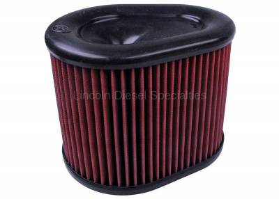 11-16 LML Duramax - Air Intake - S&B Filters - S&B  Cold Air Intake Replacement Filter Element, Dry Disposable (2015-2016)