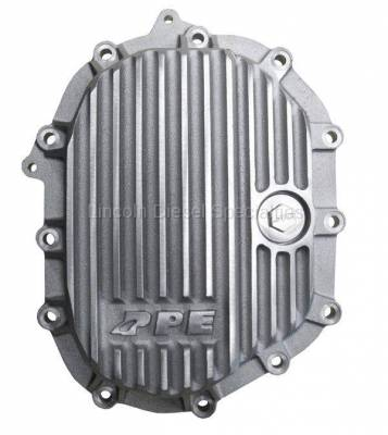 """Axle and Differential - 9.25"""" Front Axle - Pacific Performance Engineering - PPE Front Aluminum Differential Cover Raw  Finish (2011-2016)"""