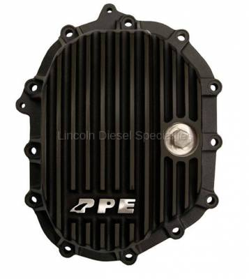 """Axle and Differential - 9.25"""" Front Axle - Pacific Performance Engineering - PPE Front Aluminum Differential Cover Black Finish (2011-2016)"""