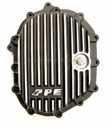 """Axle and Differential - 9.25"""" Front Axle - Pacific Performance Engineering - PPE Front Aluminum Differential Cover Brushed Finish (2011-2016)"""