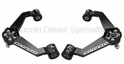 17+ L5P Duramax - Steering - Cognito MotorSports - Cognito MotorSports Cognito Upper Control Arm Kit (2011-2019)