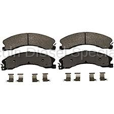 17+ L5P Duramax - Brake Systems - GM - GM OEM Replacement Front or Rear Ceramic Brake Pads (2011-2018)