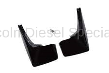 Exterior Accessories - Mud Flaps/Splash Guards - GM - GM OEM Molded Rear Splash Guards (Black)(2007.5-2013)
