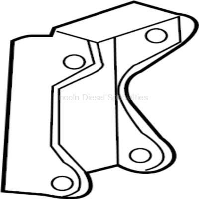 Engine - Sensors and Electrical - GM - GM OEM Support Bracket For Dual Alternator Application (2001-2016)
