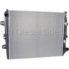 Cooling System - Radiators, Tanks, Reservoirs and Parts - GM - GM OEM Replacement Radiator (2006-2010)