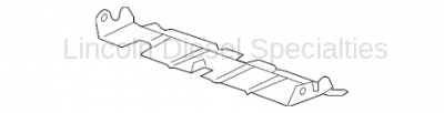 Cooling System - Radiators, Tanks, Reservoirs and Parts - GM - GM OEM Lower Radiator Baffle Plate (2007.5-2010)