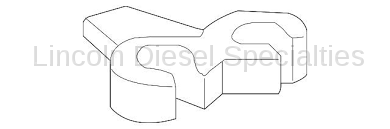 Transmission - Coolers & Lines - GM - GM OEM Oil Cooler Inlet And Outlet Pipe Retaining Clip (2007.5-2010)