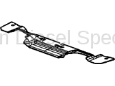 Cooling System - Radiators, Tanks, Reservoirs and Parts - GM - GM OEM Lower Radiator Air Baffle (2006-2007)