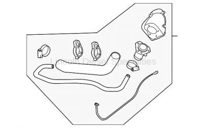 Fuel System - OEM Fuel System - GM - GM OEM Fuel Filler Pipe Assy. (2007.5-2010)