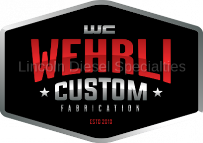 "06-07 LBZ Duramax - Intercoolers and Pipes - WCFab - Wehrli Custom Fab 2 1/2"" x 3"" Silicone Boot (Hot Side) 2001-2017"