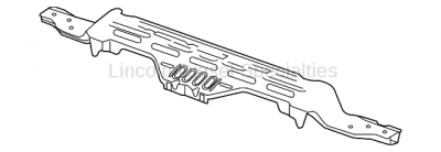 Cooling System - Radiators, Tanks, Reservoirs and Parts - GM - GM OEM Radiator Core Support /Upper Tie Bracket (2011-2014)