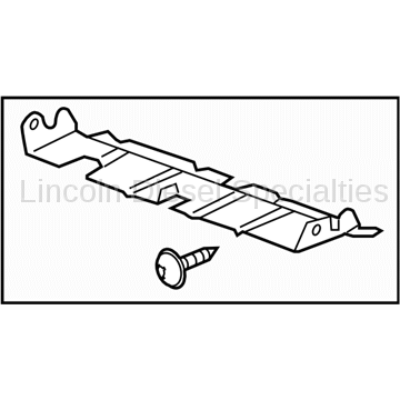 Cooling System - Radiators, Tanks, Reservoirs and Parts - GM - GM OEM Radiator Support Baffle (2011-2014)
