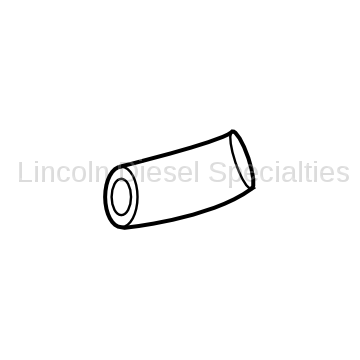 Cooling System - Hoses, Hose Kits, Pipes and Clamps - GM - GM OEM Lower Cold Side Intercooler Connector  (2004.5-2005)