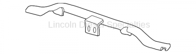 Cooling System - Radiators, Tanks, Reservoirs and Parts - GM - GM Upper Radiator Support Tie Bar (2003-2007)