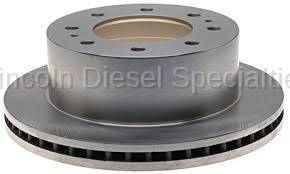 17+ L5P Duramax - Brake Systems - GM - GM OEM Dually Rear Brake Rotor (2011-2018)