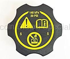 Cooling System - Radiators, Tanks, Reservoirs and Parts - GM - GM OEM Replacement Surge Tank Filler Cap (2017-2018)