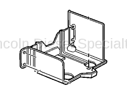 Engine - Sensors and Electrical - GM - GM OEM Frame Mount Battery Tray (2001-2018)