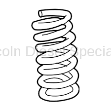 Suspension - GM OEM Suspension Related Parts - GM - GM OEM Front Coil Spring, Left or Right (2001-2005)