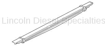 Suspension - Traction Bars - GM - GM OEM Leaf Spring (2006-2010)