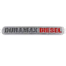 "Exterior Accessories - Body Molding and Badges - GM - GM OEM ""Classic Duramax"" Emblem (2001-2007)"