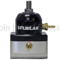 Fuel System - Aftermarket Fuel System - Fuel Lab - Fuelab Velocity Series Adjustable Bypass Fuel Pressure Regulator,  4-12psi (2001-2018)
