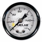 Fuel Lab - Fuelabs  EFI  1.5 inch Fuel Pressure Gauge. Range: 0-120 PSI