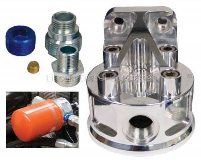 Pacific Performance Engineering - PPE Billet Aluminum Remote Oil Filter Mount Kit (2001-2010)