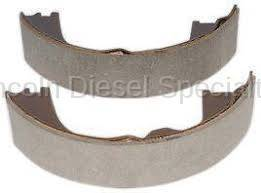 Brake Systems - Drum & Rotors - GM - GM OEM Parking Brake Shoe Kit (2001-2010)