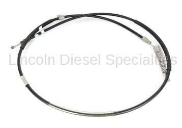 Brake Systems - Lines & Hardware - GM - GM OEM Rear Passenger Side Parking Brake Cable Assembly (2001-2005)