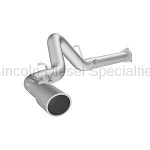 "Exhaust Systems - 4 Inch Systems - MBRP - MBRP Installer Series 4"" Filter Back, Single Side Exit, AL (2007.5-2010)"