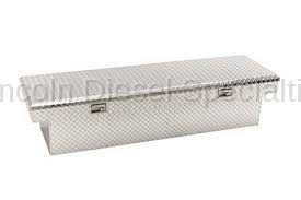 Exterior Accessories - Bed Accessories - GM - GM Cross Bed Diamaond Pattern Tool Box w/ GMC Logo (2003-2018)