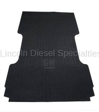 Exterior Accessories - Bed Accessories - GM - GM Accessories Long Box Bed Mat in Black with GM Logo (2007.5-2018)