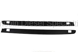 Exterior Accessoriess - Deflection/Protection - GM - GM Accessories Standard Box Side Rail Protectors in Black (2007.5-2014)