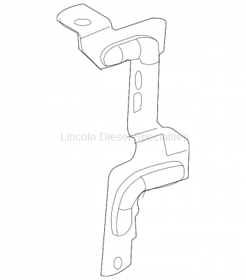 Fuel System - OEM Fuel System - GM - GM OEM Fuel Cooler Support Bracket (2007.5-2010)