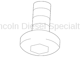 Fuel System - OEM Fuel System - GM - GM OEM Lower Fuel Tank Shield Screw (2007.5-2018)