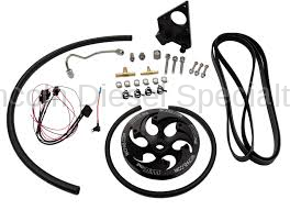 Fuel System - Injection Pumps - WCFab - Wehrli Custom Fab LB7 Duramax Twin CP3 Kit w/ Black Anodized Pulley (2001-2004)*