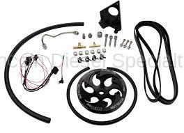 Fuel System - Injection Pumps - WCFab - Wehrli Custom Fab LML Duramax Twin CP3 Kit w/ Black Anodized Pulley (2011-2016)*