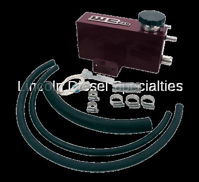 06-07 LBZ Duramax - Cooling System - WCFab - Wehrli Custom Fab Twin Turbo Coolant Tank, LB7,LLY,LBZ (2001-2007)*
